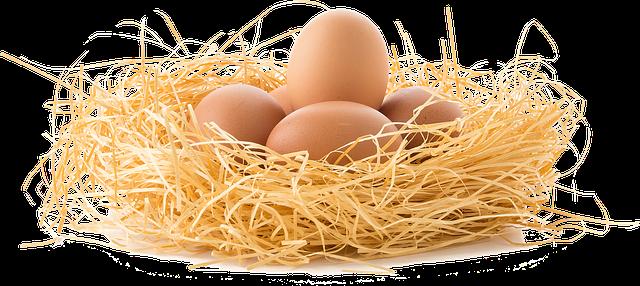 Jajka mogą powodować alergię pokarmową